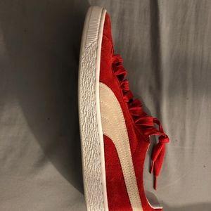 Red & White Puma